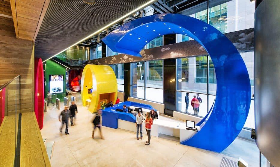 Google – Office Furniture Installation